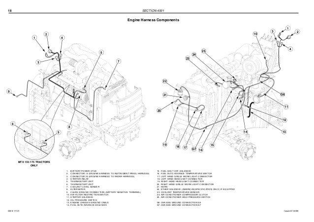 McCormick MTX155 Tractor Service Repair Manual