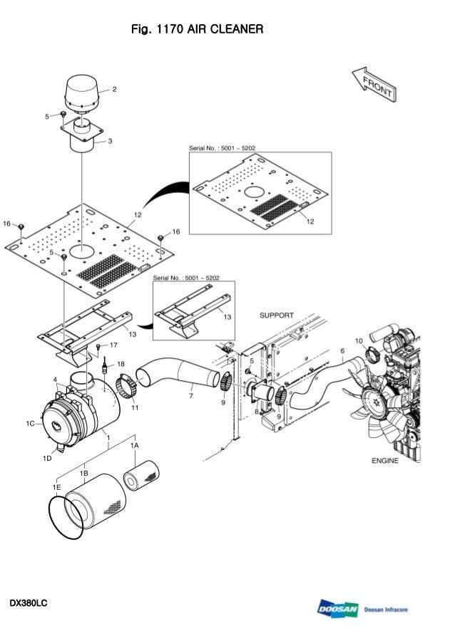 DAEWOO DOOSAN DX380LC CRAWLER EXCAVATOR Service Repair Manual
