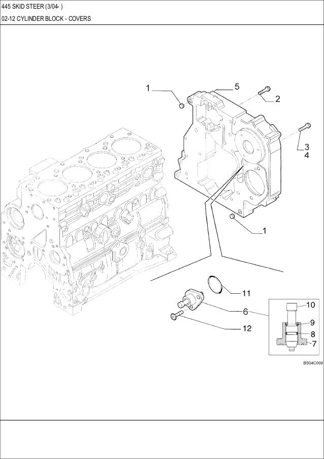 Case 445 Skid Steer Loader Service Repair Manual