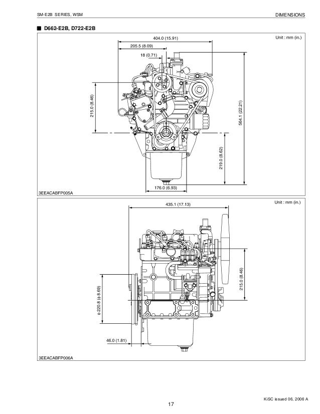 Kubota D722 E2b Diesel Engine Service Repair Manual