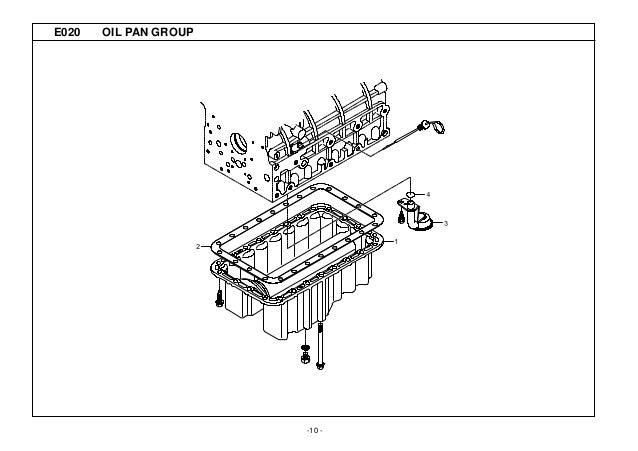Kioti Daedong DK45S Tractor Parts Catalogue Manual