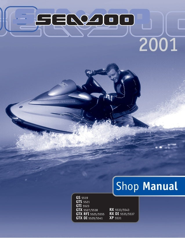 2001 Sea Doo Gs Service Repair Manual