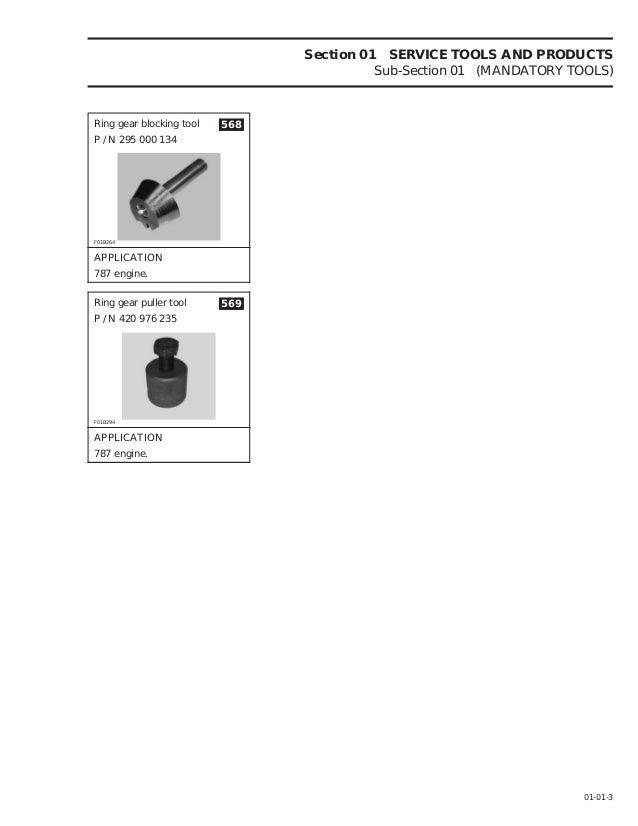 1996 Sea Doo Sportster 5894 Service Repair Manual