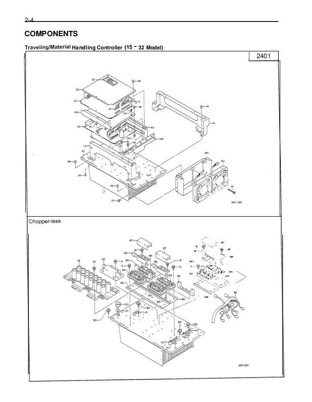 Toyota 30-7FBCU30 Forklift Service Repair Manual