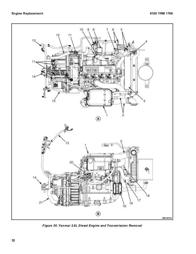 YALE B974 GDP25LX LIFT TRUCK Service Repair Manual