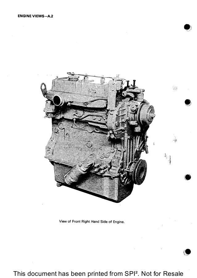 Perkins diesel service manual