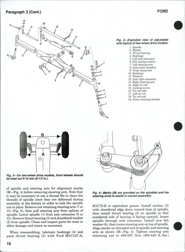 Ford 8340 Tractor Service Repair Manual