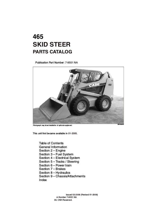case 465 skid steer loader service repair manual rh slideshare net 1835B Case Skid Steer Case 1537 Skid Loader Clutches