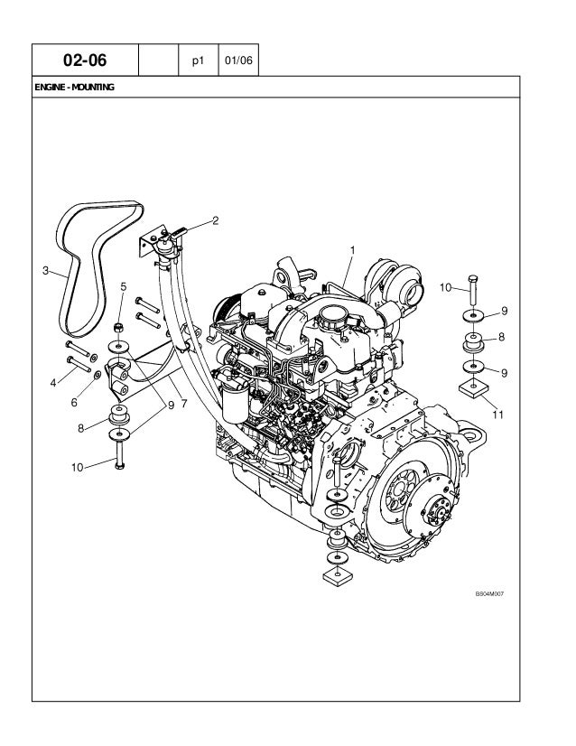 02-06a p1 04/05 oil fill, engine
