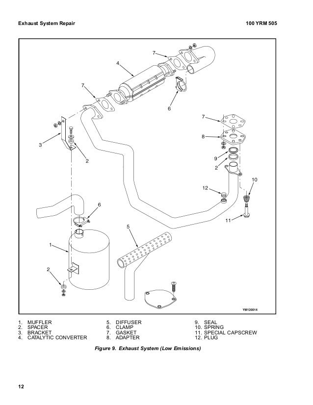 yale e187 glc040 065rg tg zg lift truck service repair manual Mazda 3.0L Engine exhaust system gm3 0l epa pliant 11 13