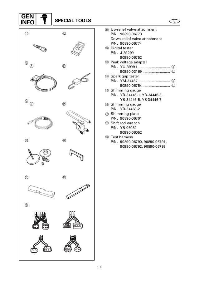 YAMAHA FL115AET, LF115TR OUTBOARD Service Repair Manual X