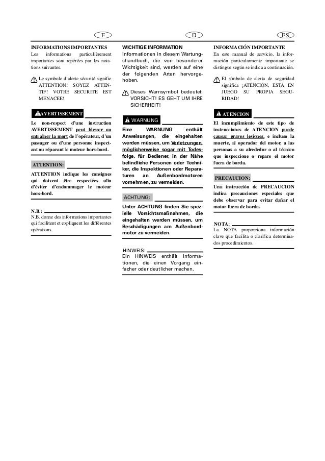 YAMAHA F40BET, F40TR OUTBOARD Service Repair Manual SN:500101