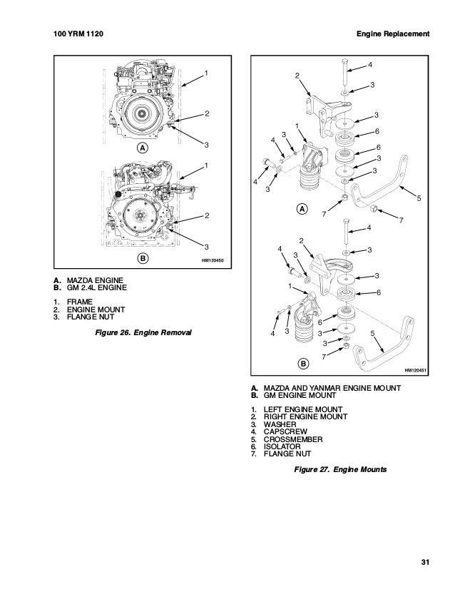 YALE B875 GP040VX LIFT TRUCK Service Repair Manual