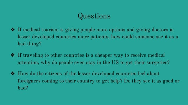 globalization of healthcare good or bad