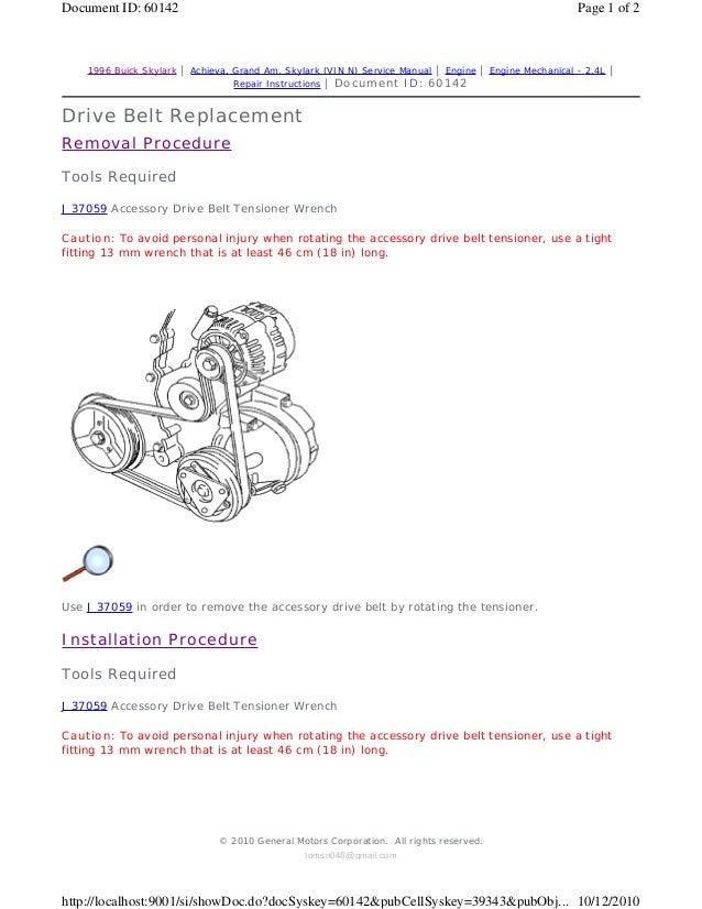 1994 PONTIAC GRAND AM Service Repair Manual | 1994 Pontiac Grand Am Engine Wiring Diagram |  | SlideShare