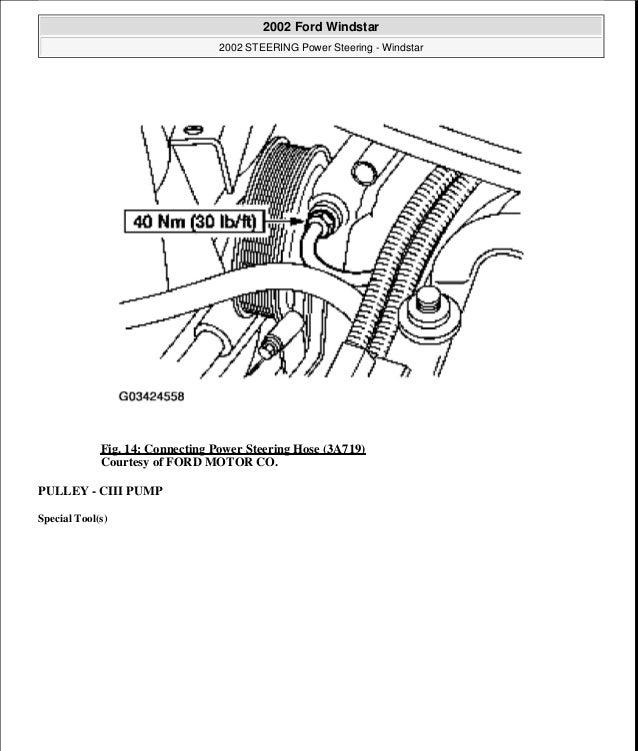 2000 FORD WINDSTAR Service Repair Manual