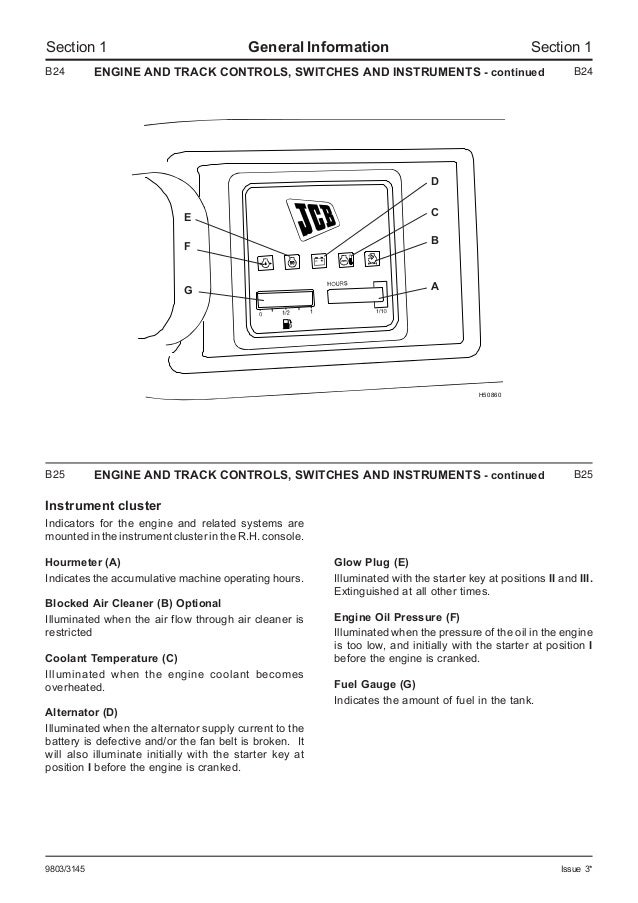 JCB 803plus MINI EXCAVATOR Service Repair Manual SN(765607 ... on