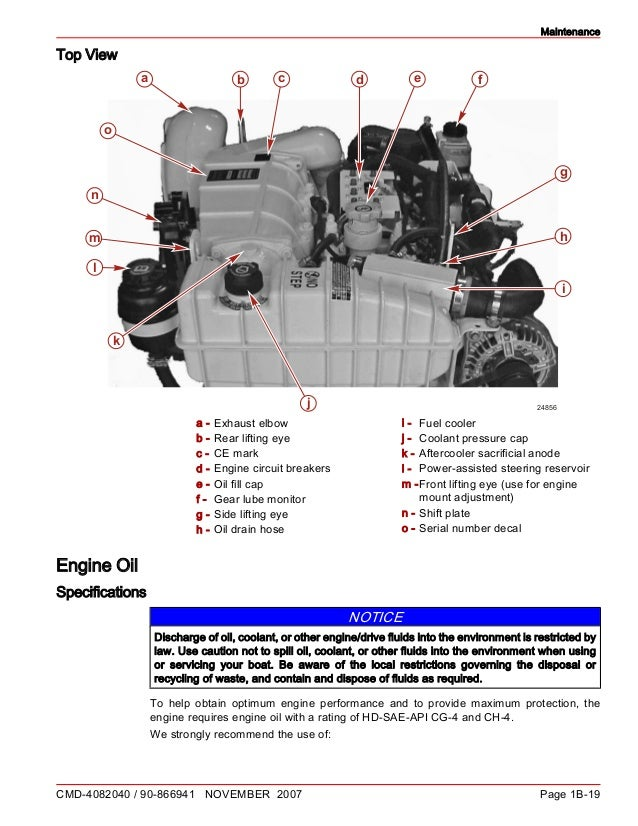cummins mercruiser qsd 2 8 230 hp diesel engine service repair manual rh slideshare net Mercruiser Parts 255 Mercruiser