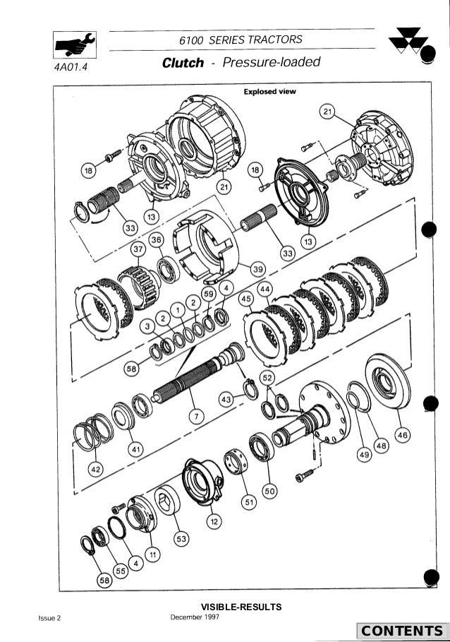 Massey Ferguson MF 6180 Tractor Service Repair Manual