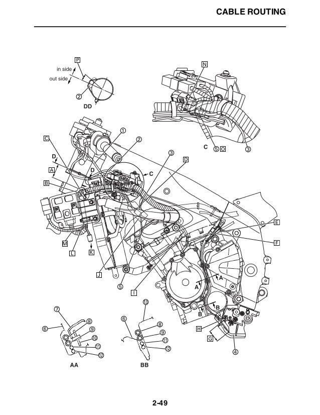 2008 Yamaha YZFR600XB Service Repair Manual