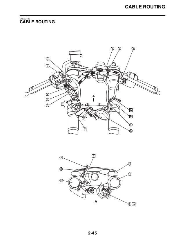 2008 Yamaha YZFR600XBC Service Repair Manual