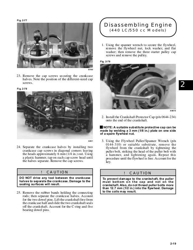 1999 ARCTIC CAT ZL550 SNOWMOBILE Service Repair Manual