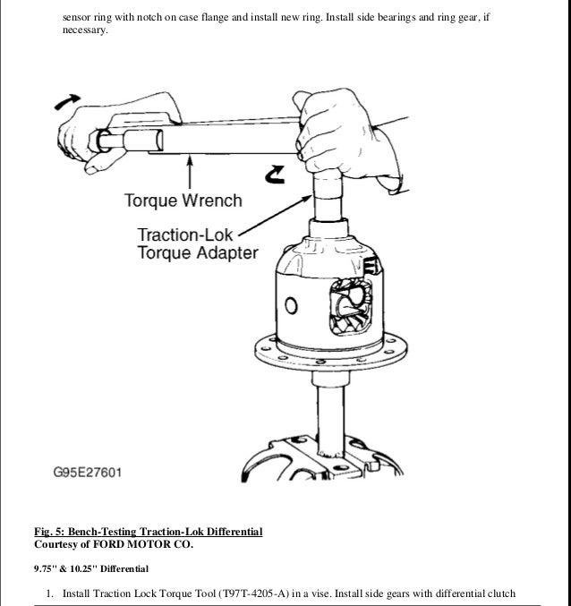 1996 FORD EXPLORER Service Repair Manual