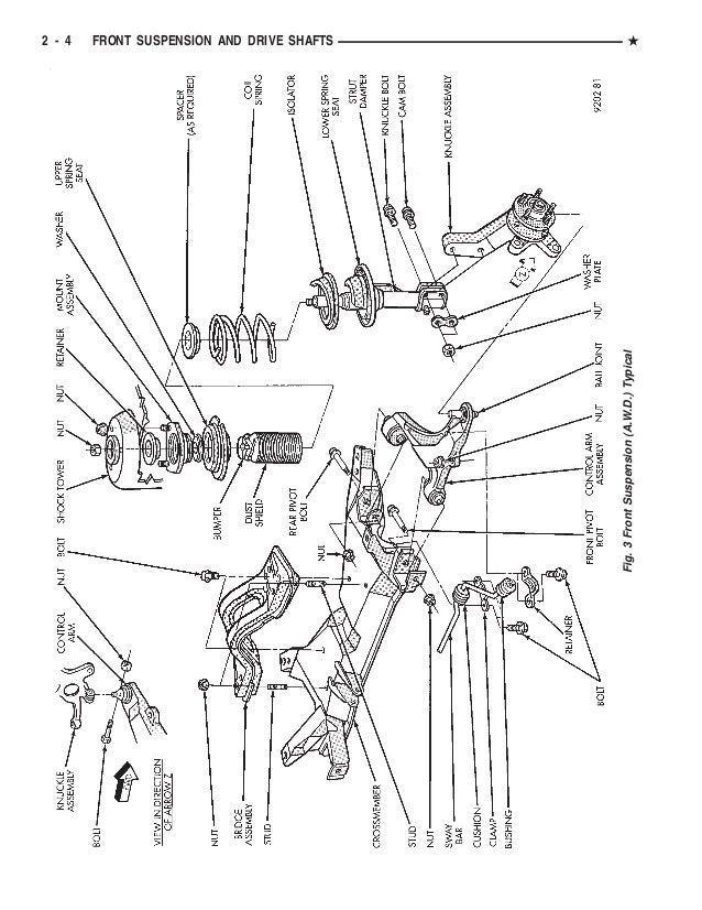 1994 DODGE CARAVAN Service Repair Manual