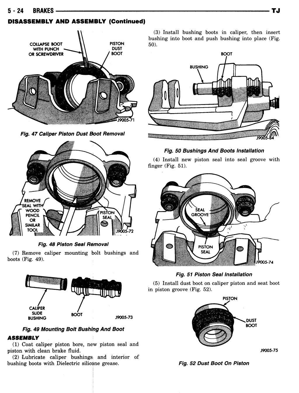 1997 JEEP WRANGLER TJ Service Repair Manual