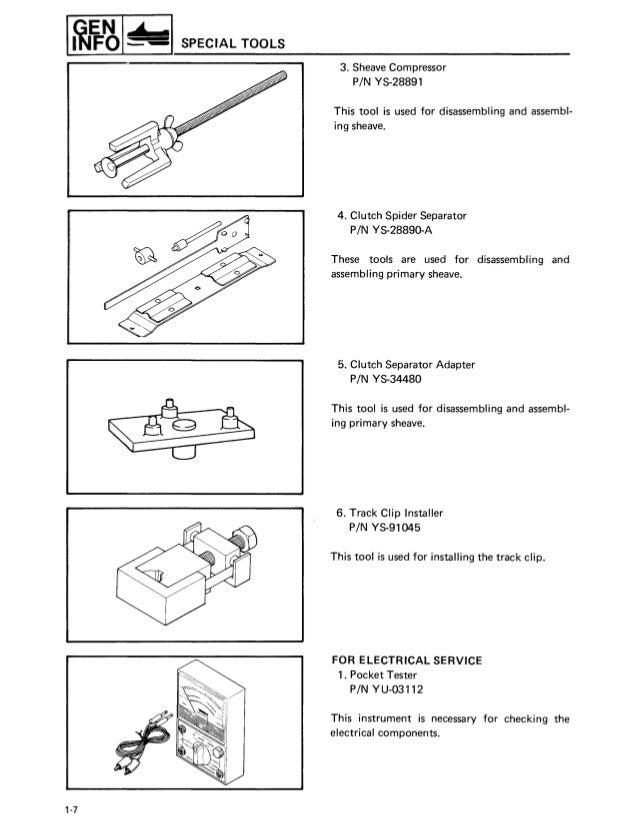 Yamaha Viking Wiring Diagram. . Wiring Diagram on