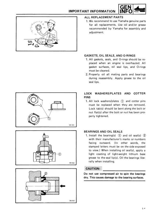Yamaha Snowmobile Repair Manuals