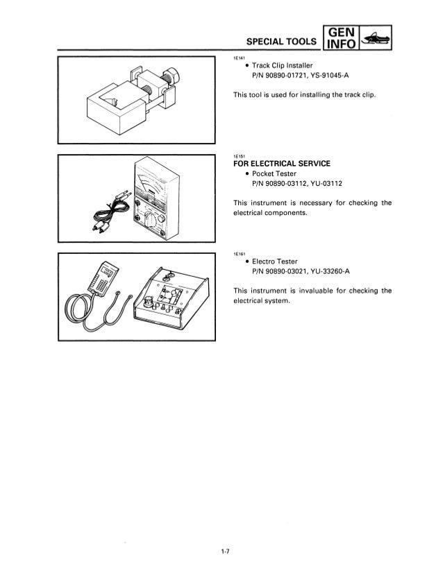 1997 1998 1999 Yamaha Venture 500/600 Service Repair Manual