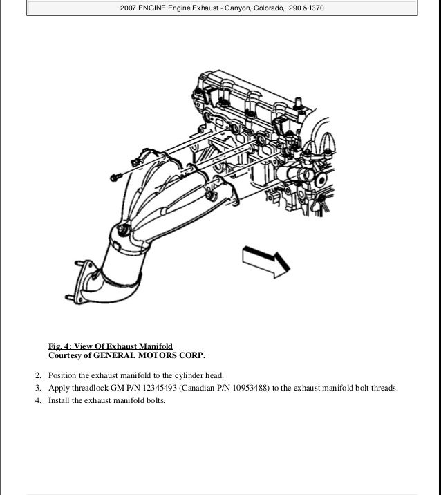 2006 GMC CANYON Service Repair Manual