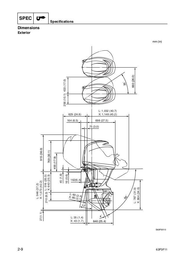 YAMAHA F150AET OUTBOARD Service Repair Manual X: 1000044-