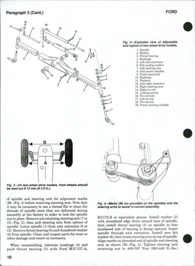 Ford 5640 Tractor Service Repair Manual