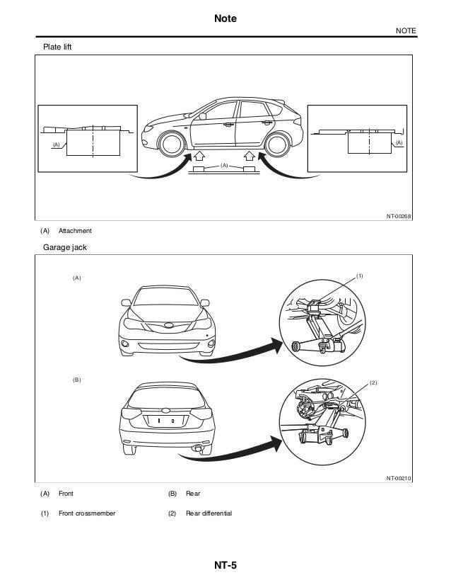 2010 Subaru Impreza Service Repair Manual