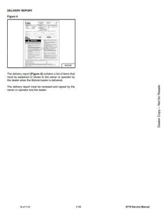 BOBCAT S770 SKID STEER LOADER Service Repair Manual SN