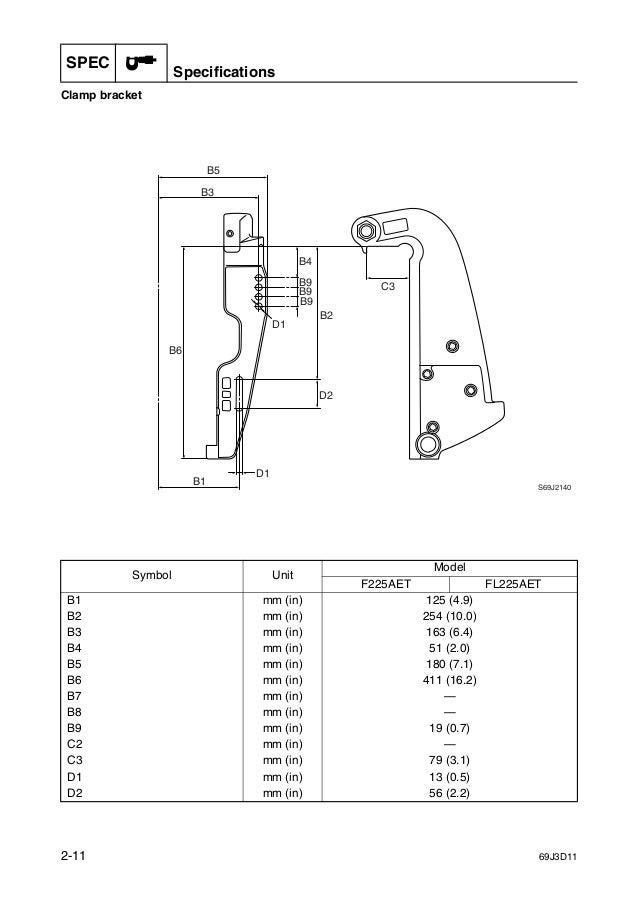 YAMAHA F225AET OUTBOARD Service Repair Manual X: 000101-