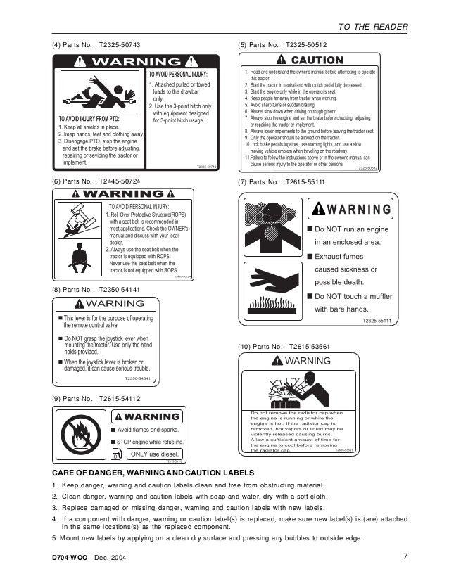 Kioti Daedong CK30H Tractor Service Repair Manual