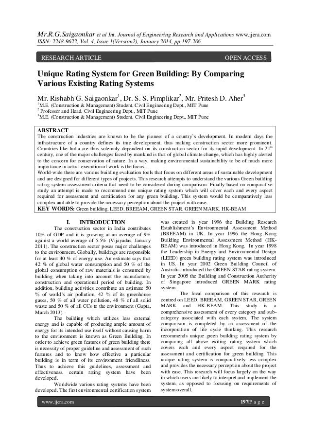 Mr.R.G.Saigaonkar et al Int. Journal of Engineering Research and Applications www.ijera.com ISSN: 2248-9622, Vol. 4, Issue...