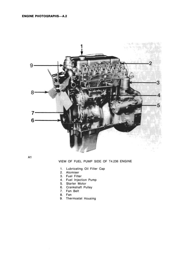 PERKINS 4.212 DIESEL ENGINE Service Repair Manual