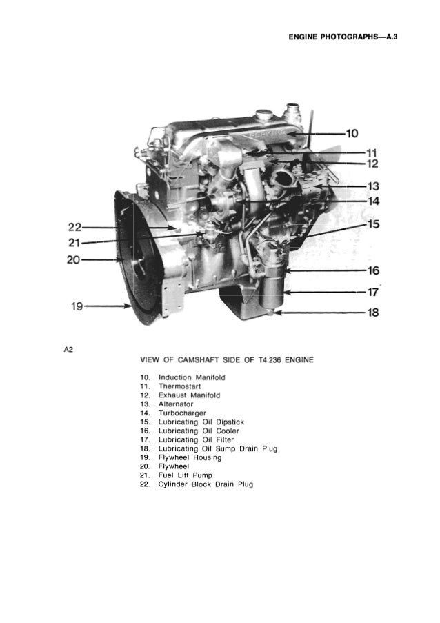 PERKINS 4.212 DIESEL ENGINE Service Repair Manual