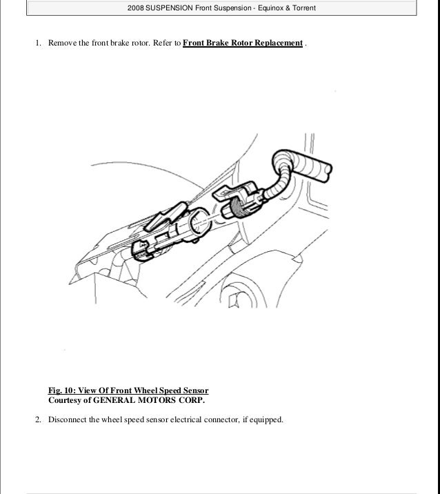 2006 Chevrolet Equinox Service Repair Manual