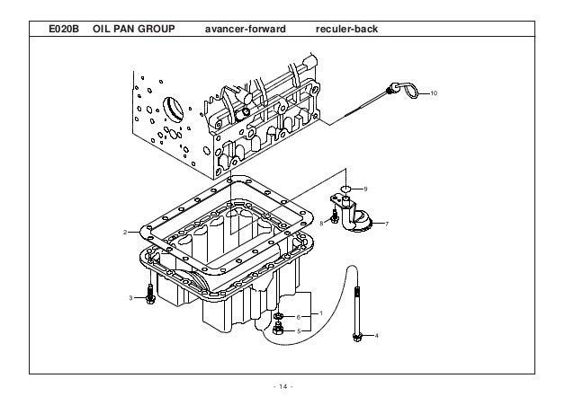 Kioti Daedong DK450L Tractor Parts Catalogue Manual