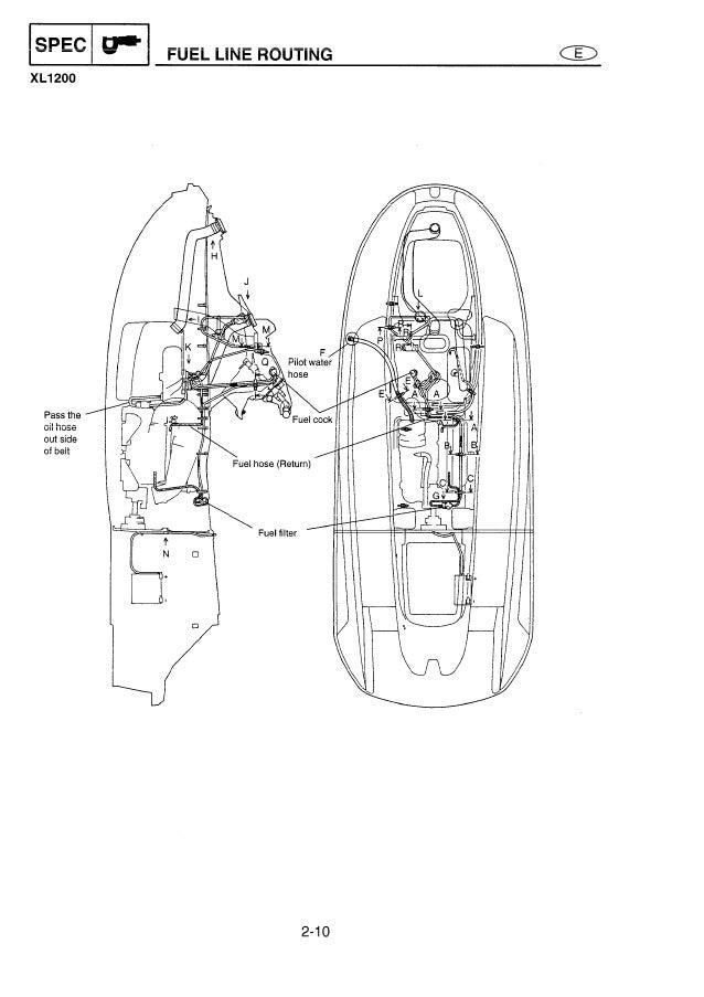 2001 Yamaha XL700 XL760 XL1200 Waverunner Service Repair