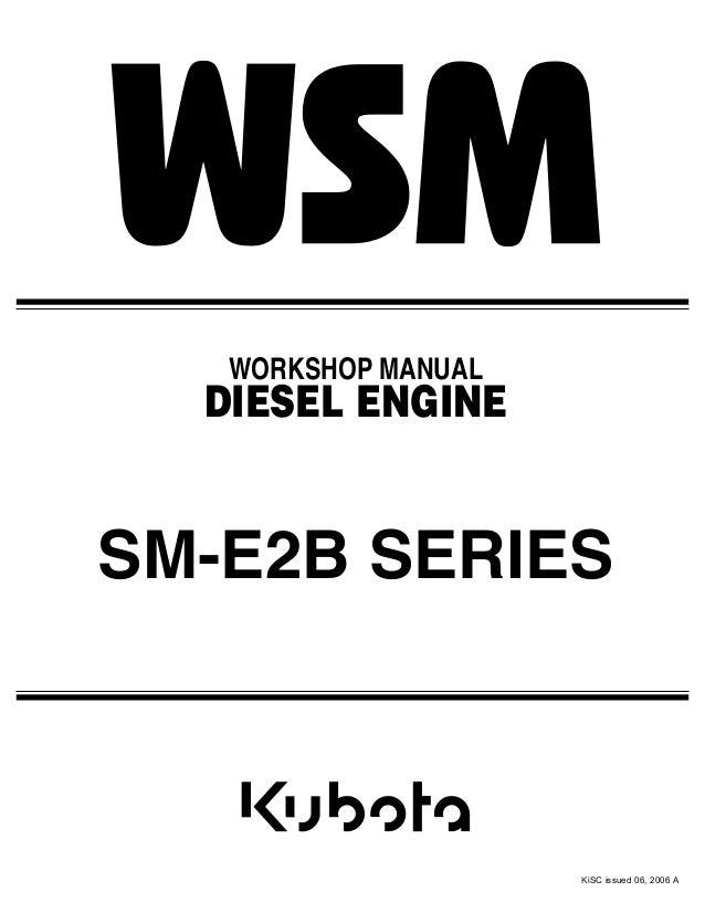 kubota d902 e2b diesel engine service repair manual rh slideshare net kubota diesel engine 03 series service manual kubota gh 400 engine service manual