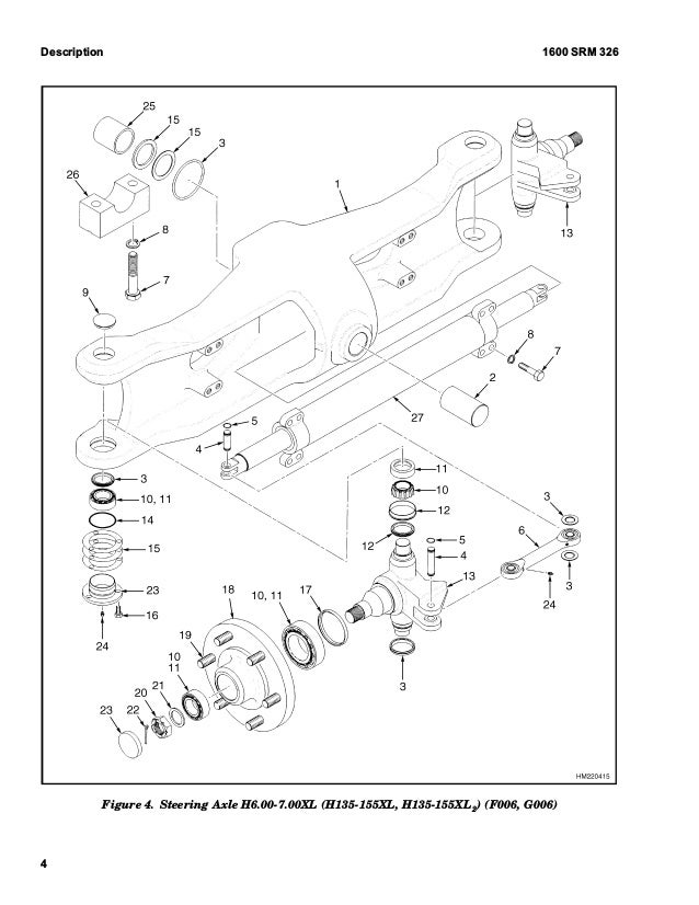 Hyster F004 (S3.50XM Europe) Forklift Service Repair Manual