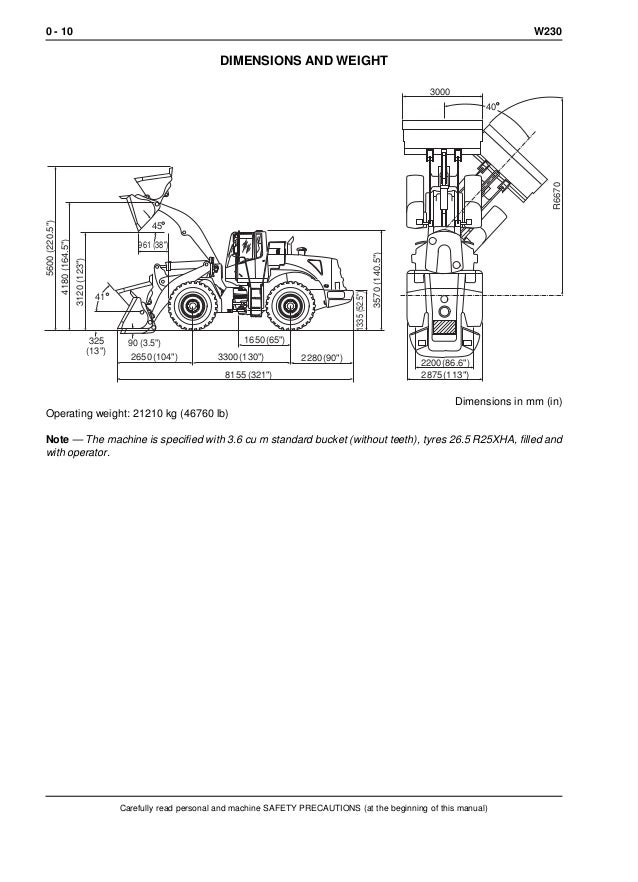 NEW HOLLAND W230 WHEEL LOADER Service Repair Manual