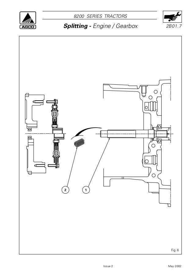 mey ferguson mf 8220 tractor service repair manual on 302 transmission  diagram, 302 radiator diagram