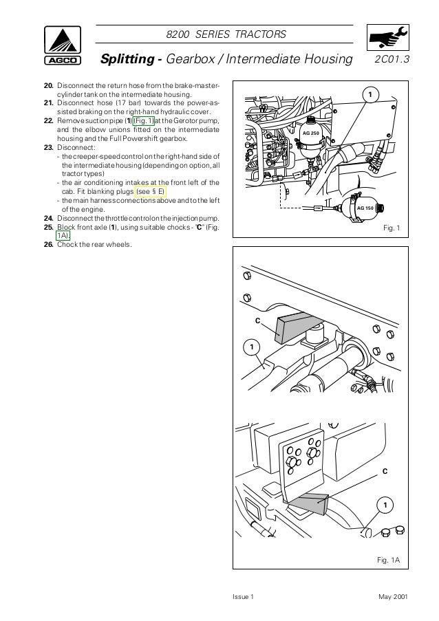 Massey Ferguson MF 8220 Tractor Service Repair Manual